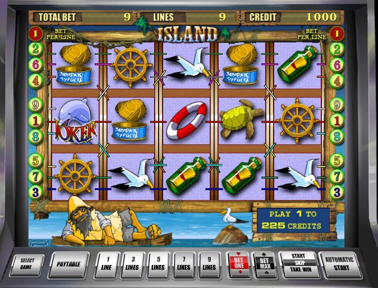 Игровой Автомат Island Онлайн